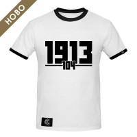 Мъжка тениска Славия 104 - бяла