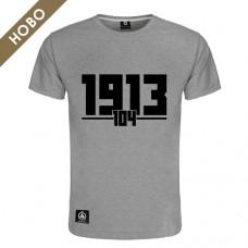 Мъжка тениска Славия 104 - сива