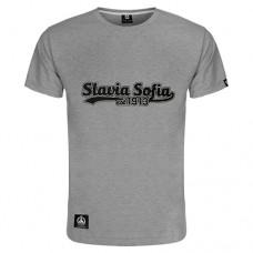 Тениска Славия София 1913 - сива